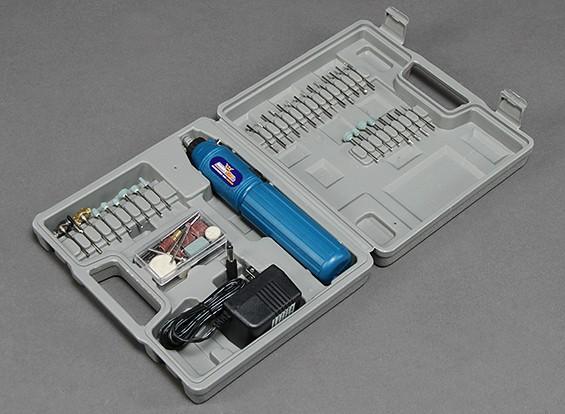 Dremel Style Cordless Rotary mano-Tool w / 60pc set (110V Stati Uniti del caricatore della spina)