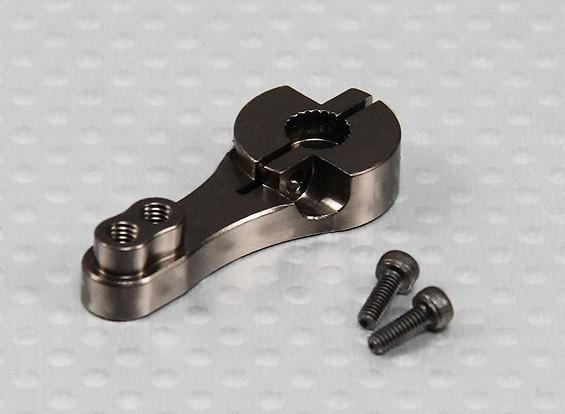 Heavy Duty 23T in alluminio Servo Arm - JR & KO (Gunmetal)