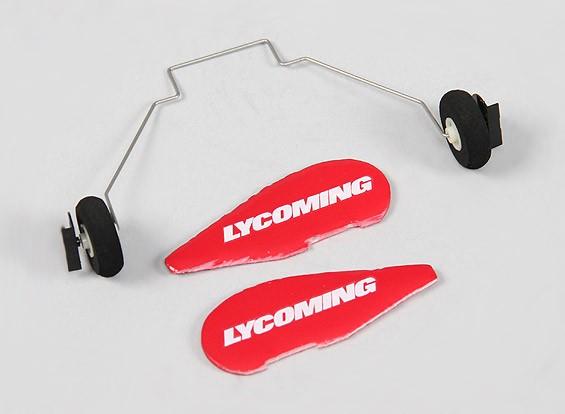 Durafly ™ Slick 360 V2 3s 490 millimetri Micro 3D - Sostituzione del carrello di atterraggio