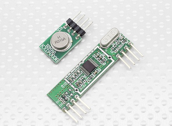 Superheterodyne 3400 Modulo ricevitore wireless e trasmettitore senza fili 315RF