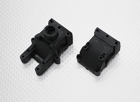 Gearbox Housing Set - 1/10 Quanum Vandal 4WD che corre carrozzino