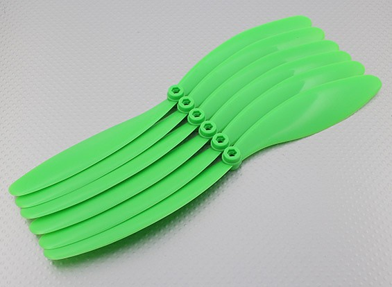 GWS EP Elica (RD-1080 255x203mm) verde (6pcs / set)