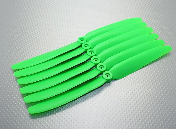 GWS EP Elica (DD-9050 229x127mm) verde (6pcs / set)