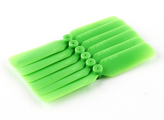 GWS EP Elica (DD-2510 65x25mm) verde (6pcs / set)