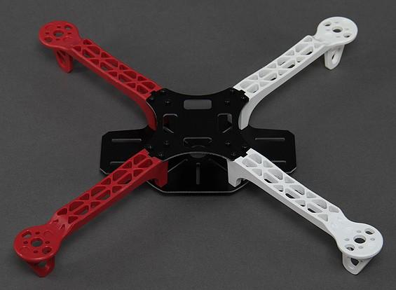 F330 fibra di vetro Mini Quadcopter 330 millimetri telaio