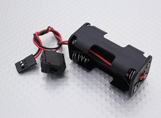 Battery Case - 1/16 Turnigy 4WD nitro che corre carrozzino, A3011