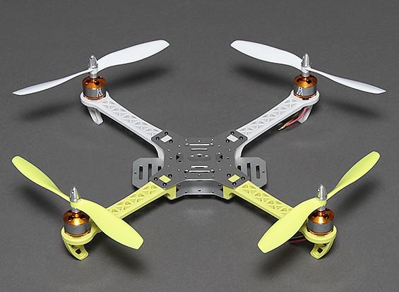 ST360 Quadcopter Frame w / Motori ed eliche 360 millimetri