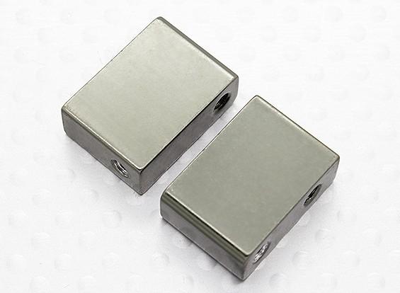 Metallo Servo piastra di montaggio - A2033 (2 pezzi)