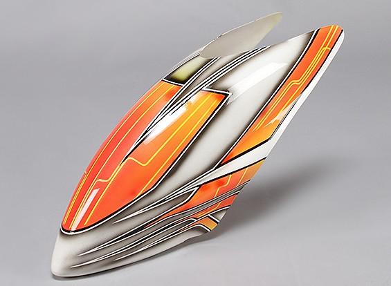 Turnigy High-End in fibra di vetro Canopy per Trex 600 Nitro