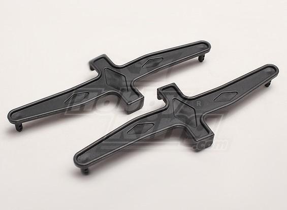 Batteria Hold-Giù L / R (2pcs / bag) - Turnigy Trailblazer 1/8, XB e XT 1/5