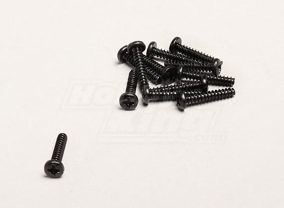 Autofilettante Vite 3x16mm Croce (12pcs / bag) - Turnigy Trailblazer 1/8