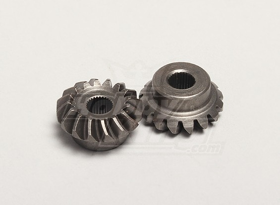 Nutech differenziale Bevel Gear (Main) (2pcs / bag) - Turnigy Twister 1/5