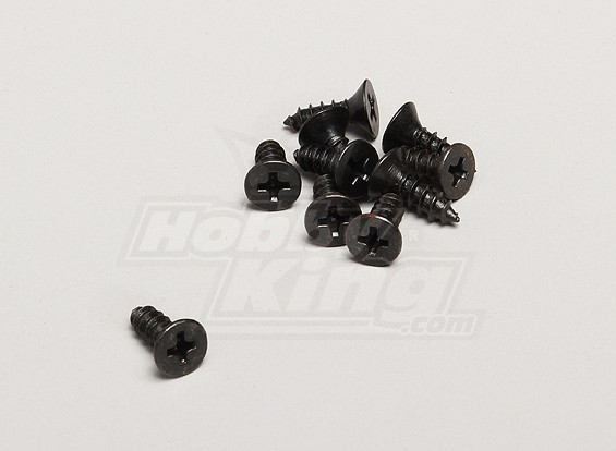 Autofilettante testa piatta Vite 4.2x13mm - Turnigy Twister 1/5