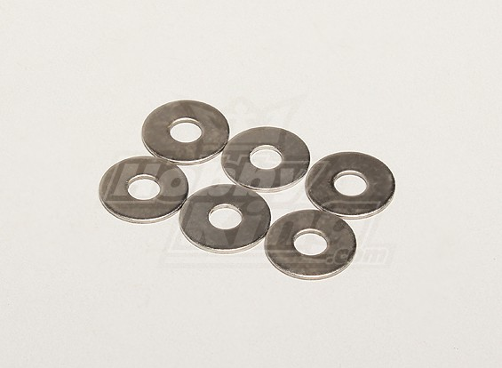 Rondella 19x1x6mm (6pcs / bag) - Turnigy Titan 1/5