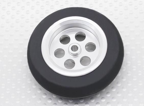 Turnigy Scala Jet lega 54 millimetri della rotella w / Rubber Tire