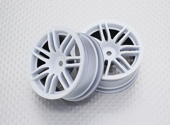 Scala 1:10 di alta qualità Touring / Drift Wheels RC 12 millimetri Hex (2pc) CR-RS4W