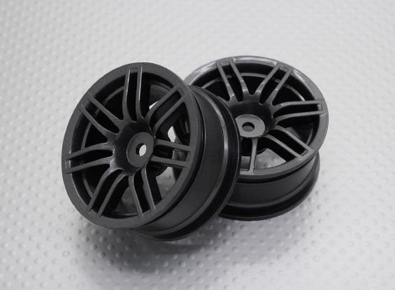 Scala 1:10 di alta qualità Touring / Drift Wheels RC 12 millimetri auto Hex (2pc) CR-RS4M