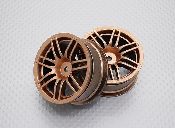 Scala 1:10 di alta qualità Touring / Drift Wheels RC 12 millimetri Hex (2pc) CR-RS4G