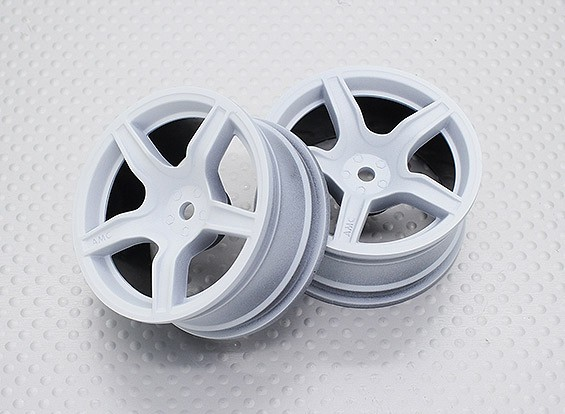 Scala 1:10 di alta qualità Touring / Drift Wheels RC 12 millimetri Hex (2pc) CR-C63W