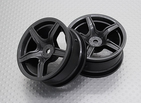 Scala 1:10 di alta qualità Touring / Drift Wheels RC 12 millimetri Hex (2pc) CR-C63M