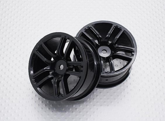 Scala 1:10 di alta qualità Touring / Drift Wheels RC 12 millimetri Hex (2pc) CR-GTNB