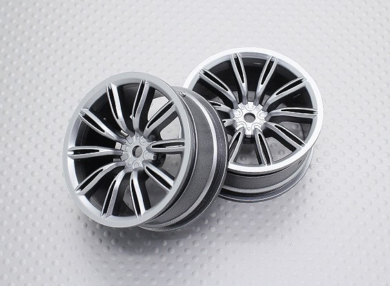 Scala 1:10 di alta qualità Touring / Drift Wheels RC 12 millimetri Hex (2pc) CR-Virages