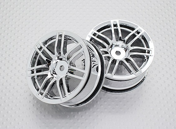 Scala 1:10 di alta qualità Touring / Drift Wheels RC 12 millimetri auto Hex (2pc) CR-RS4C