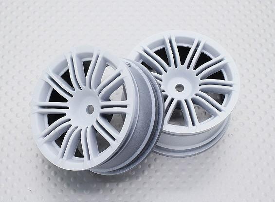 Scala 1:10 di alta qualità Touring / Drift Wheels RC 12 millimetri Hex (2pc) CR-M3W