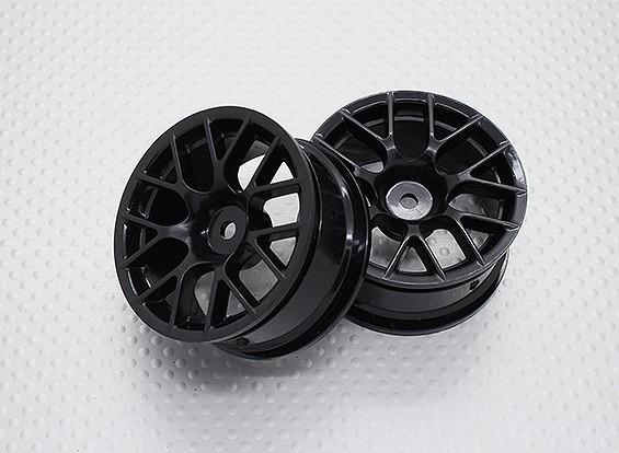 Scala 1:10 di alta qualità Touring / Drift Wheels RC 12 millimetri Hex (2pc) CR-CHNB