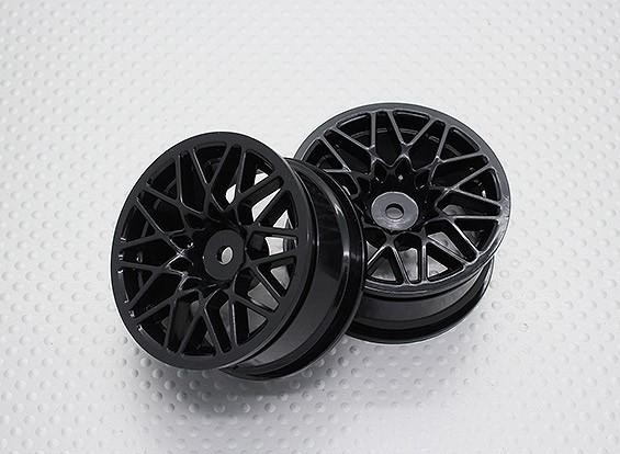 Scala 1:10 di alta qualità Touring / Drift Wheels RC 12 millimetri Hex (2pc) CR-LBNB