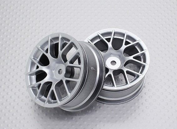 Scala 1:10 di alta qualità Touring / Drift Wheels RC 12 millimetri Hex (2pc) CR-CHS