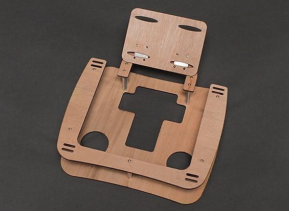 Trasmettitore legno vassoio w / Neck Strap (Grande per FPV)