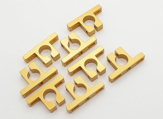 Turnigy Talon Lega Motor Mount Block (giallo dorato) (8pcs / bag)