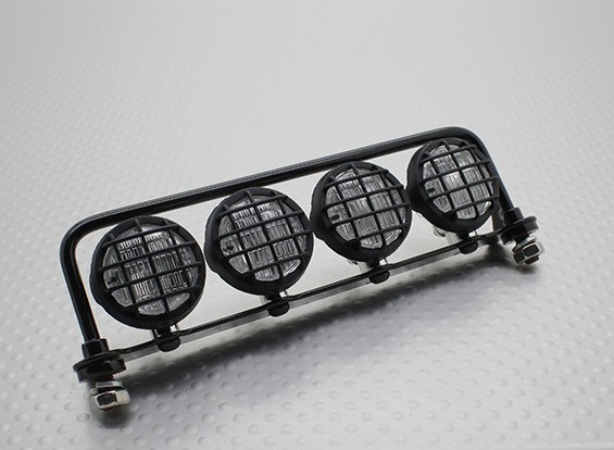 Crawler / Light Truck Bar Set con LED (nero)