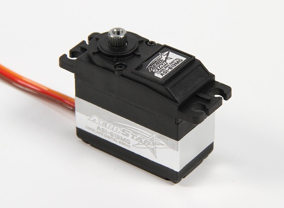 Aerostar ™ ASI-613MG Coreless DS / MG Servo 13.83kg / 0.103sec / 61g