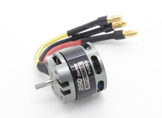 NTM rotore drive 250 Series 3400KV / 180W