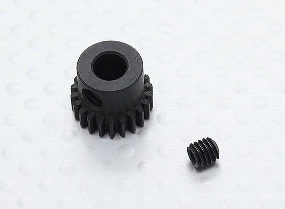 22T / 5mm 48 Pitch acciaio temperato pignone