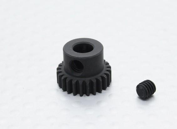 24T / 5mm 48 Pitch acciaio temperato pignone