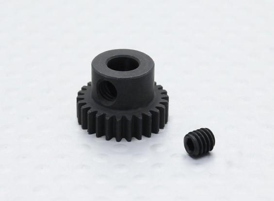 26T / 5mm 48 Pitch acciaio temperato pignone