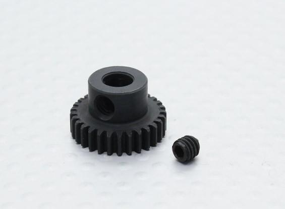 29T / 5mm 48 Pitch acciaio temperato pignone