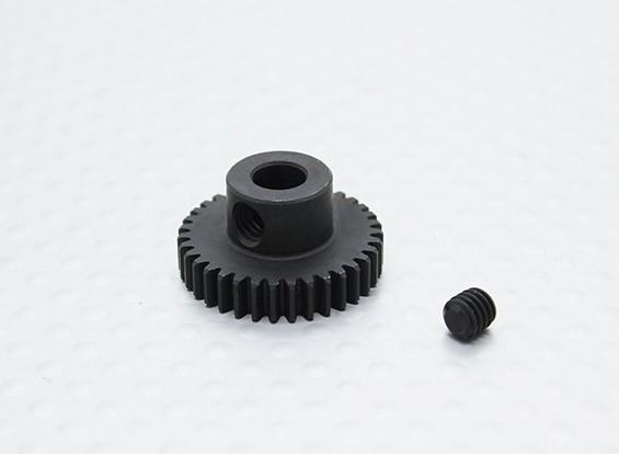 35T / 5mm 48 Pitch acciaio temperato pignone