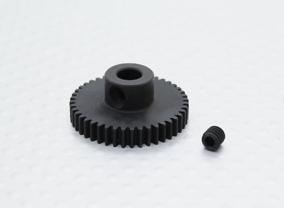 44T / 5mm 48 Pitch acciaio temperato pignone