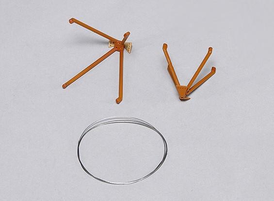 Pioneer 1020 millimetri - La sostituzione dei cavi di sartiame w / Holder