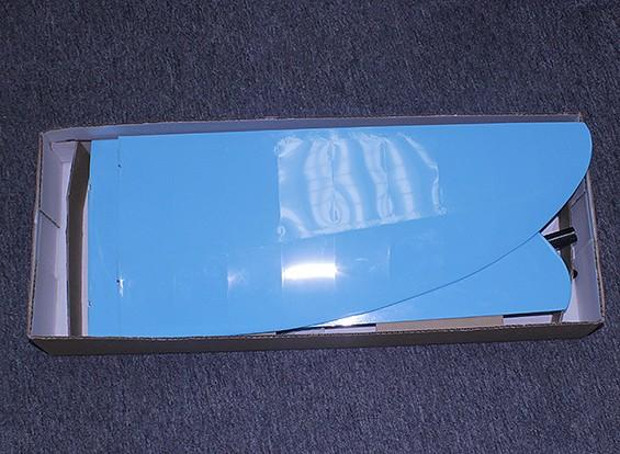 SCRATCH / DENT farfalla Pod e Boom V-Tail Glider incorporato fino ala 1.140 millimetri (ARF)