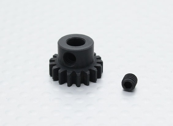 17T / 5mm 32 Pitch acciaio temperato pignone