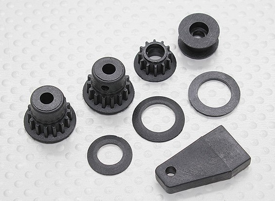 Pulley Set - 1/10 Dipartimento Funzione Mission-D 4WD GTR Drift Car