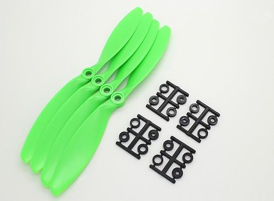GWS Stile Slowfly Elica 8x3.8 Verde (CCW) (4 pezzi)