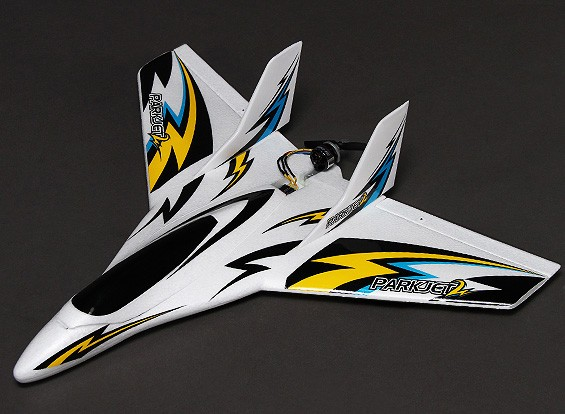 Parkjet 2 Ala ad alta velocità con 3 assi Volo Stabilizzatore EPO 550 millimetri (Modalità 1) (RTF)