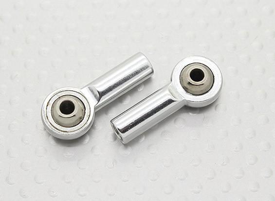 Sfera di metallo Giunti (filettatura sinistra) M4 × 26 millimetri × 3mm - 2pz