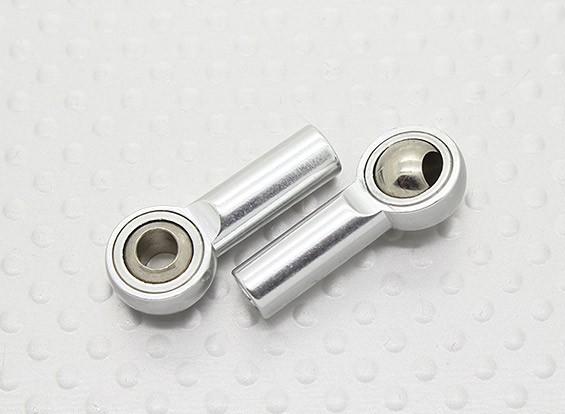 Sfera di metallo Giunti (filettatura sinistrorsa) M4 × 26 millimetri × 4mm - 2pz
